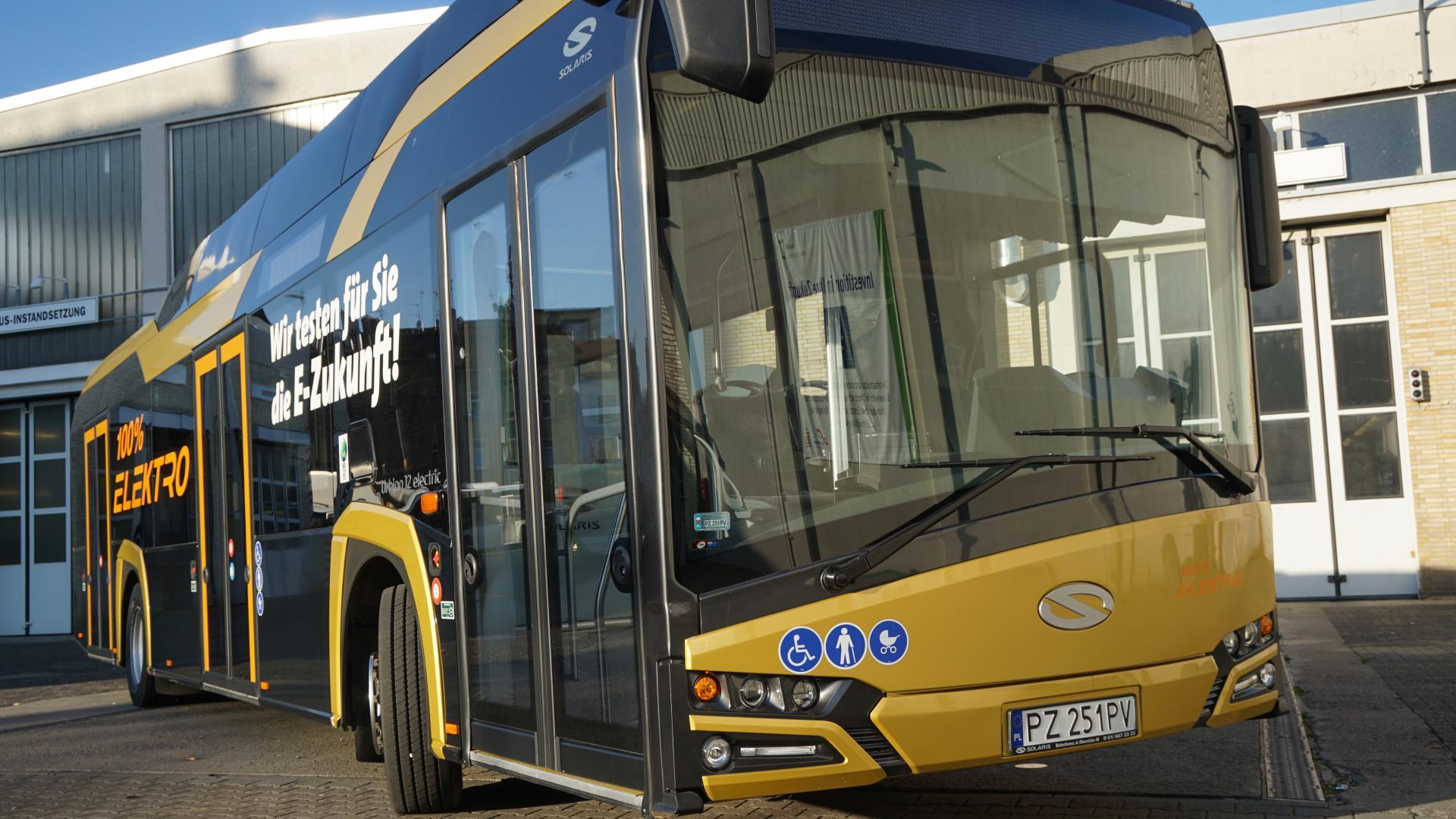 """Offenbach: """"E-Busse bezüglich Luftreinhaltung und Lärmreduzierung ein großer Fortschritt"""""""