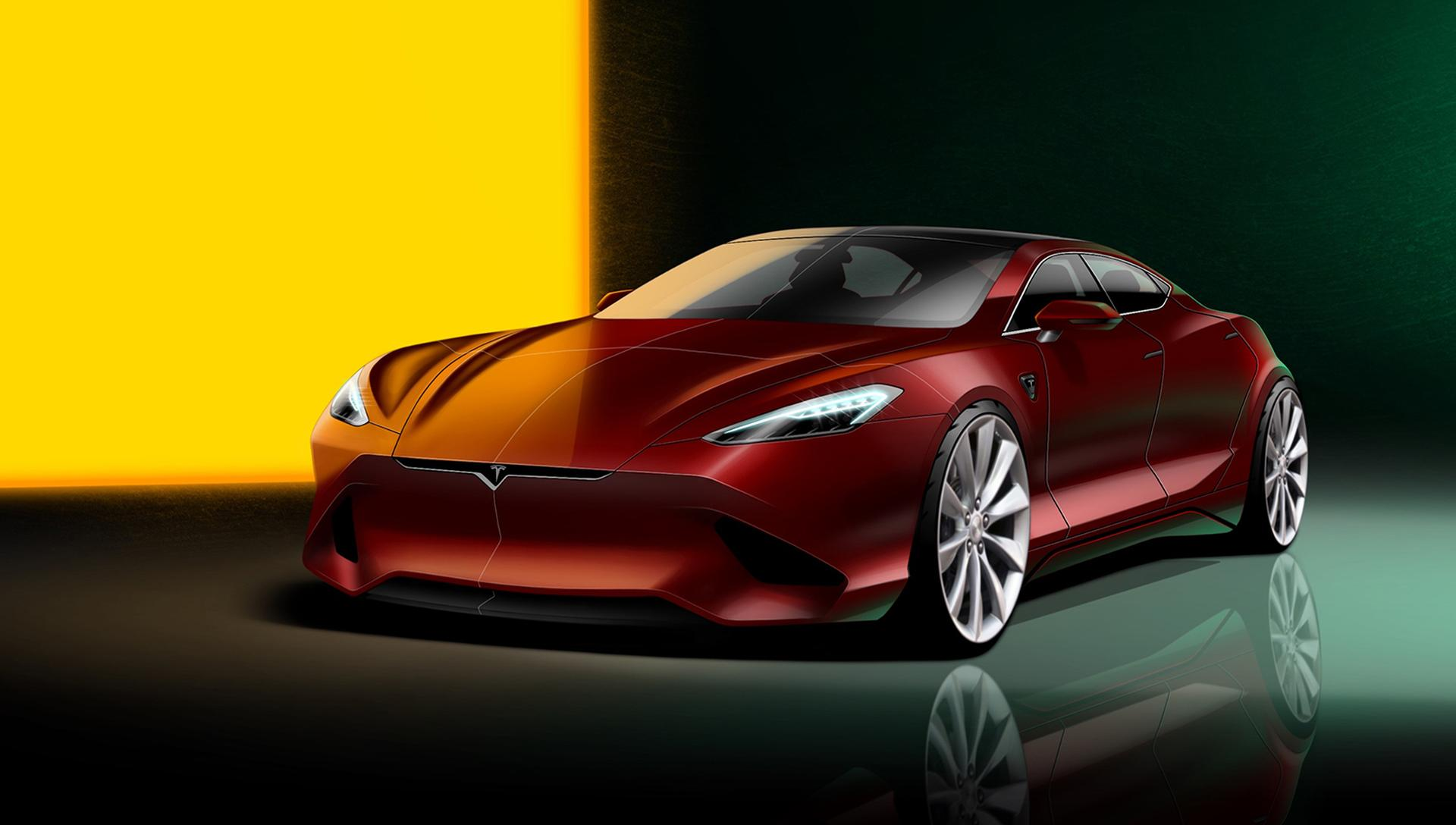 Giorgi Tedoradze zeigt seine nächste Generation des Tesla Model S