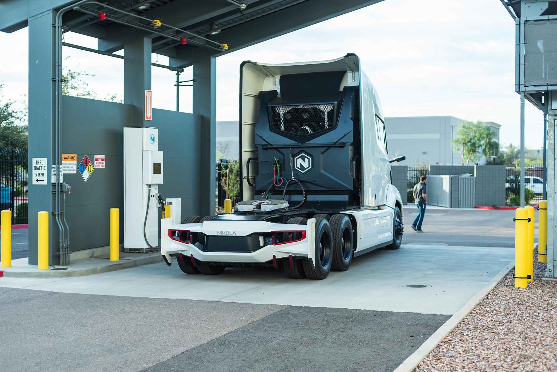 Nikola Motors produziert künftig über 40.000 kg Wasserstoff pro Tag