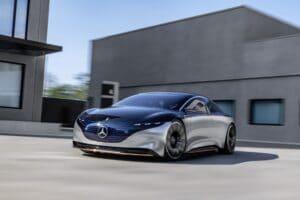 Mercedes EQS will Reichweite von Tesla übertrumpfen