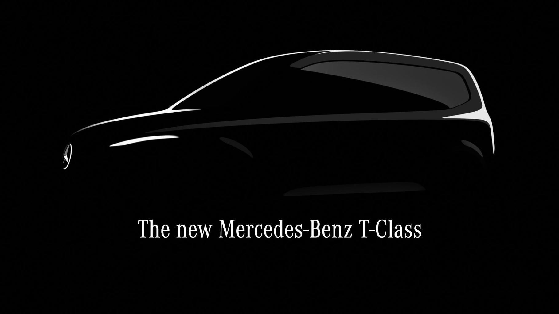 Mercedes-Benz T-Klasse: Erster vollelektrischer Small Vans vorgestellt