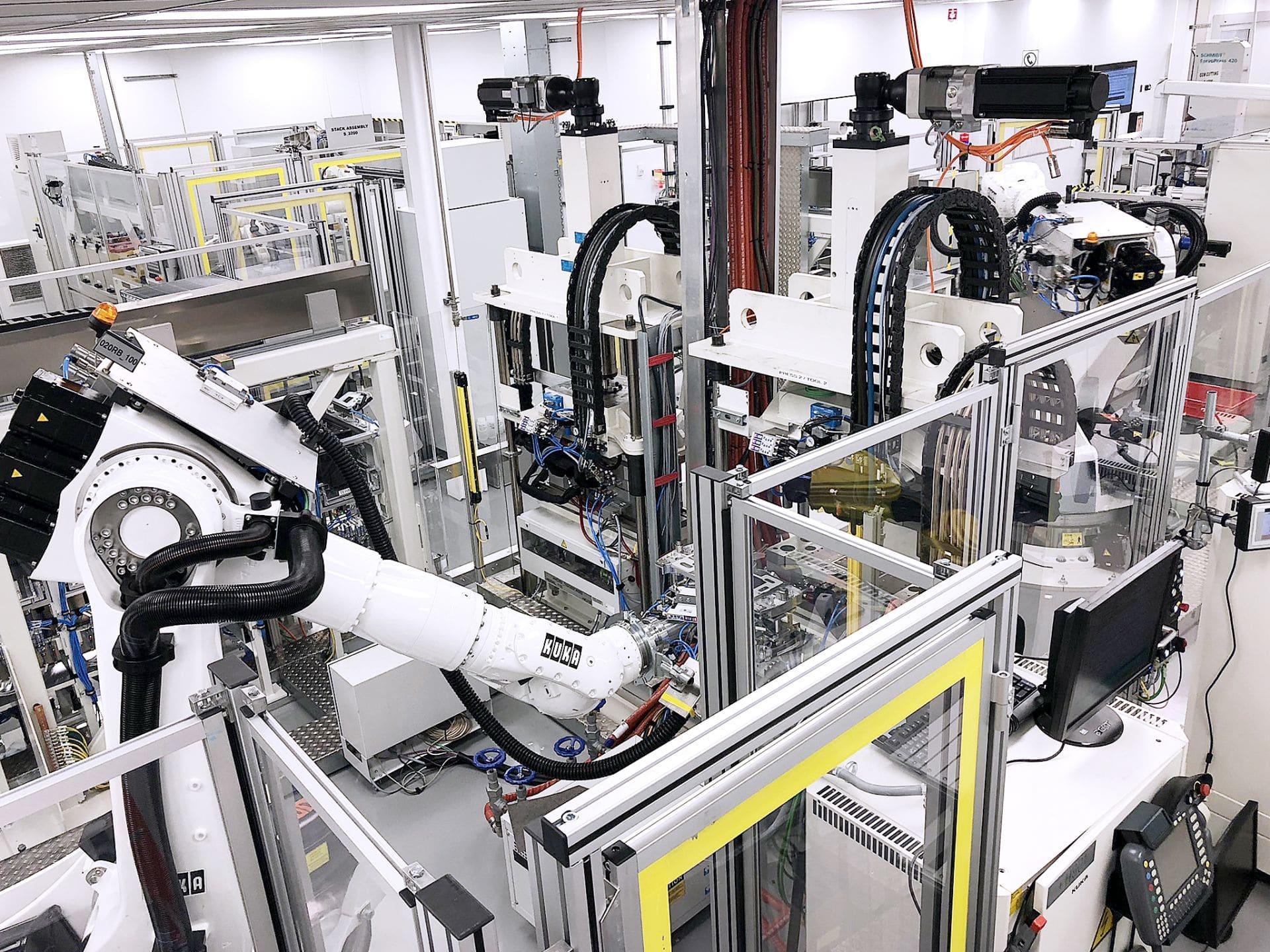Daimler arbeitet mit Hochdruck an Serienproduktion von Brennstoffzellen