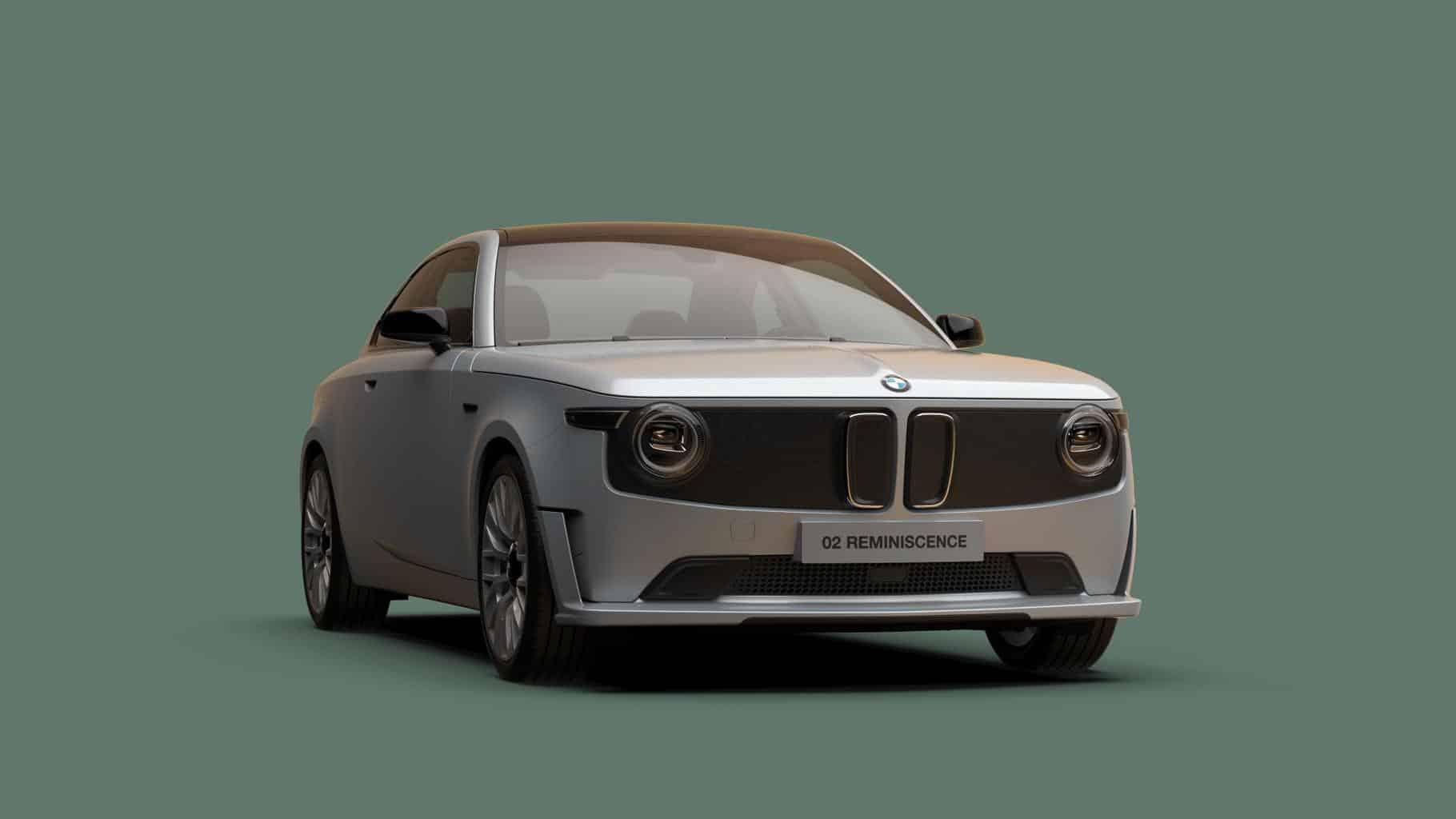 BMW 02 Reminiscence Concept zeigt E-Auto mit einem Hauch Geschichte