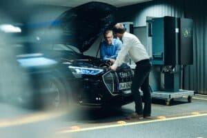 Audi sieht E-Auto als Teil der Energiewende und forscht an bidirektionaler Ladetechnik