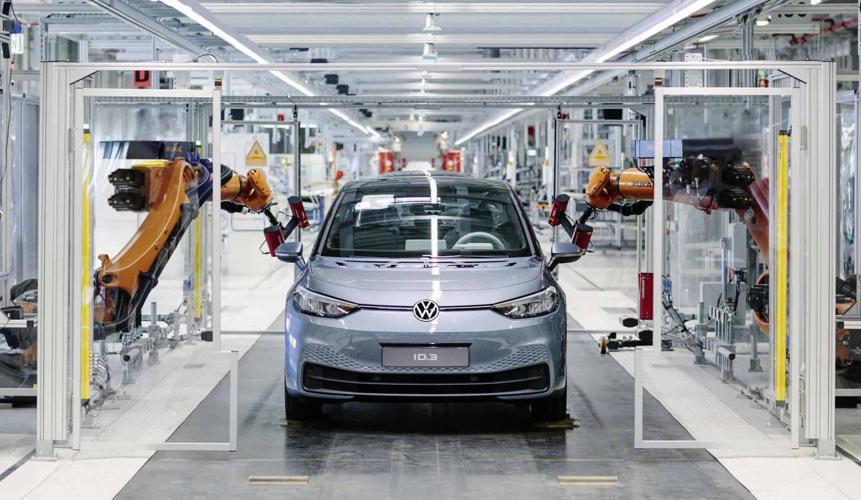 """Volkswagens Elektroautos """"sind derzeit ratzeputz ausverkauft"""""""
