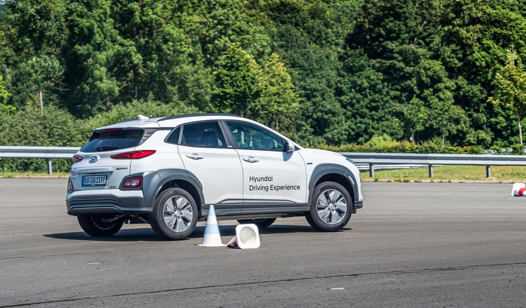 """Hyundai Driving Experience"": Grenz-Erfahrung mit der E-Mobilität"