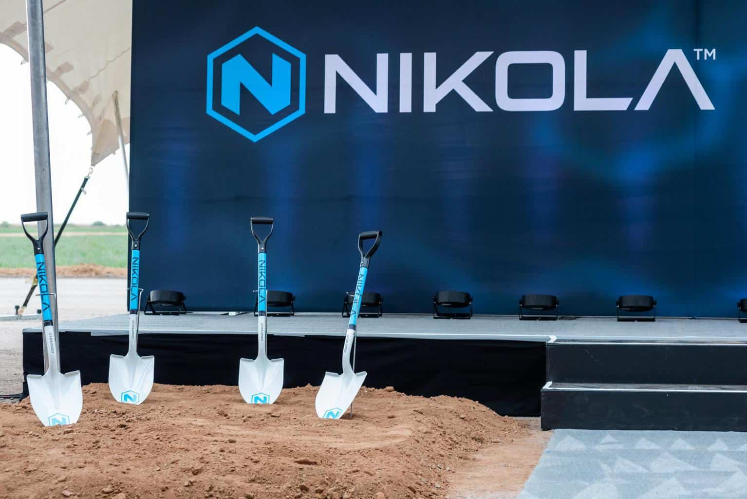 Nikola: Spatenstich für eine Mio. Quadratmeter große Produktionsstätte erfolgt