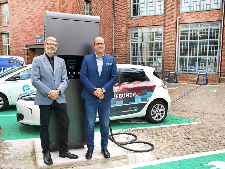 Parkstrom elektrifiziert GSG-Standorte in Berlin - gezahlt wird mit Girokarte