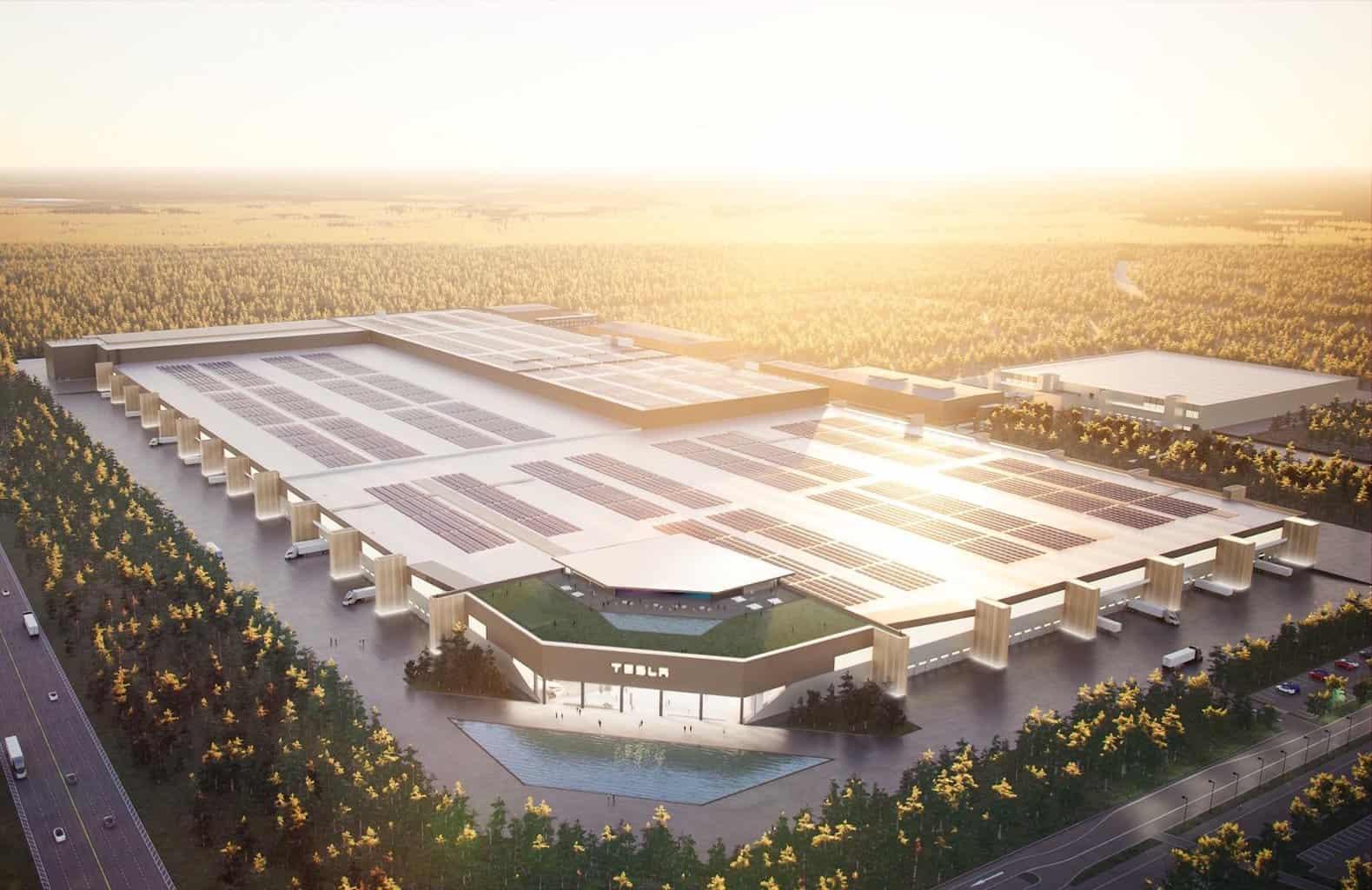 Elektroauto-Fabrik in Grünheide: So soll Teslas Giga Berlin aussehen