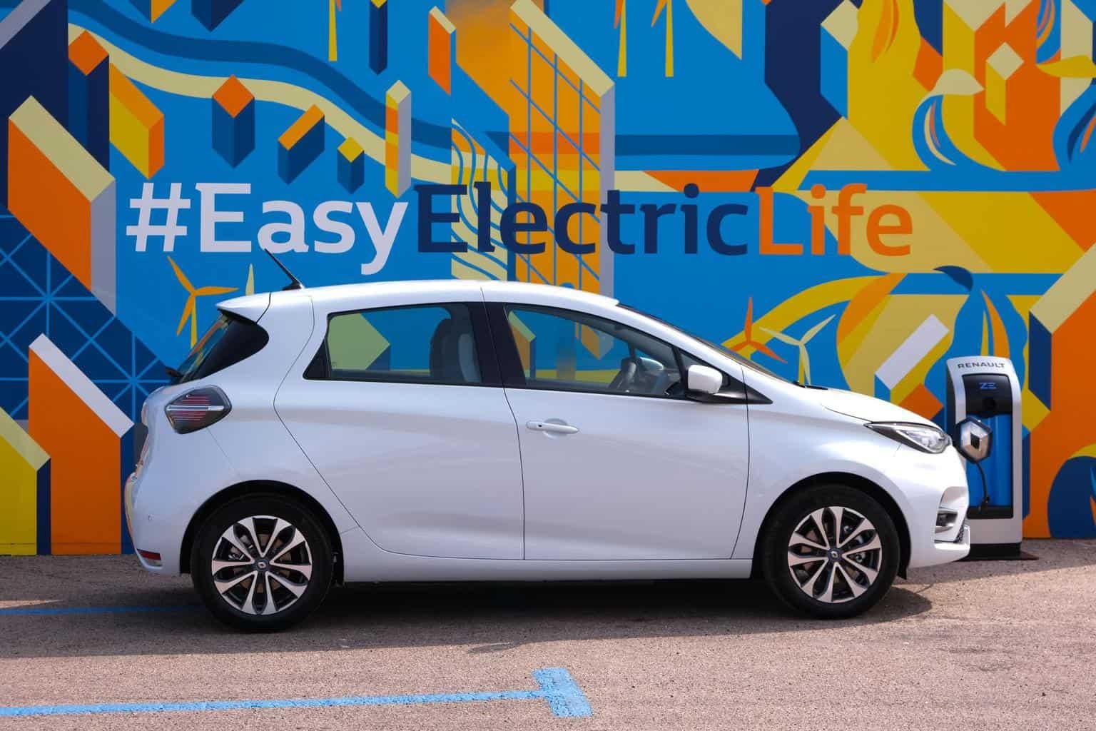 Renault ZOE Verkäufe steigen um 27 Prozent im ersten Halbjahr 2020