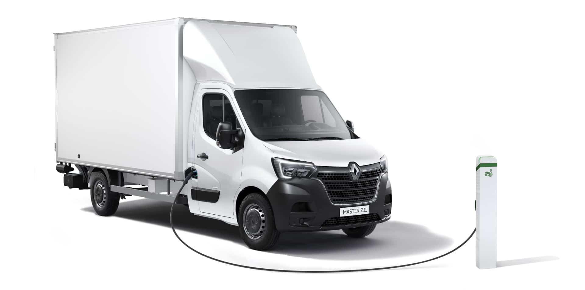 Renault gestaltet den Master Z.E. noch vielfältiger für täglichen Einsatz