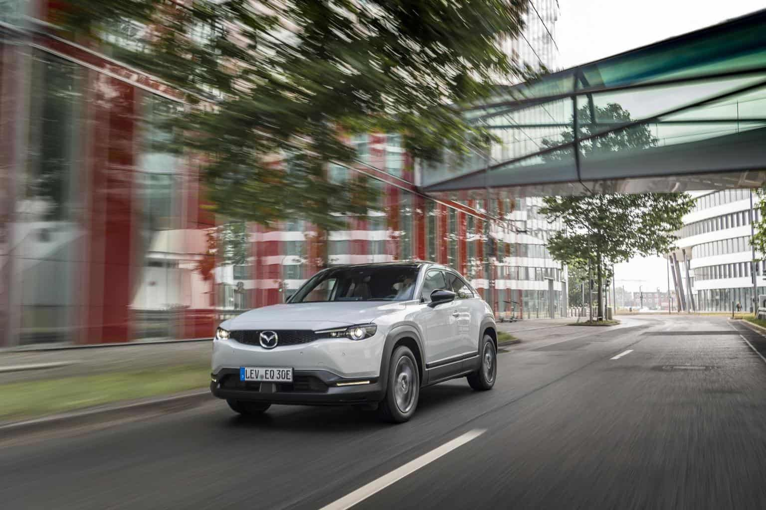 Mazda bietet Elektroauto MX-30 auch als Mildhybrid an