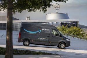 Amazon bestellt mehr als 1.800 Elektro-Transporter bei Mercedes-Benz Vans