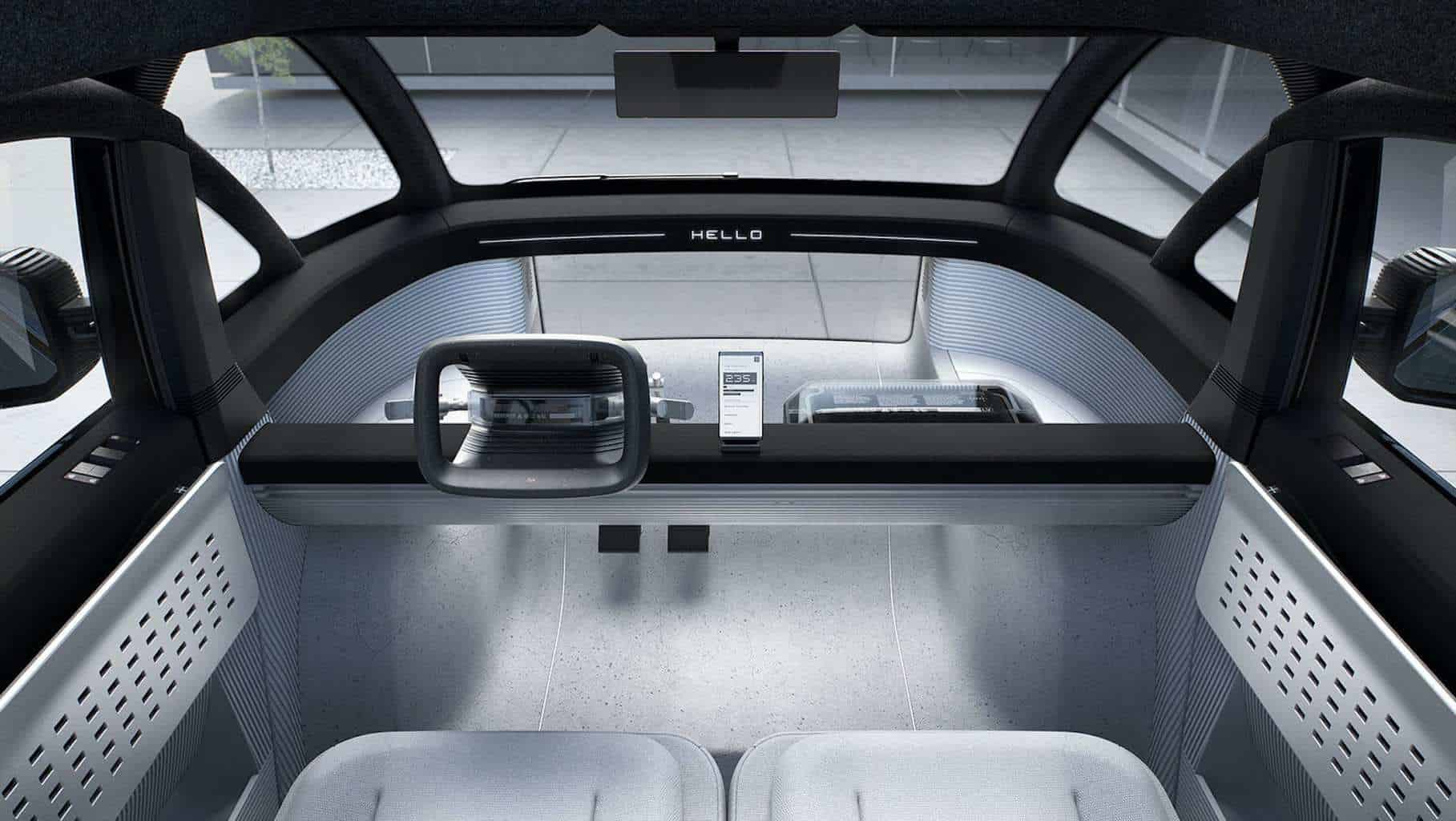 Canoo Elektroauto Innenraum