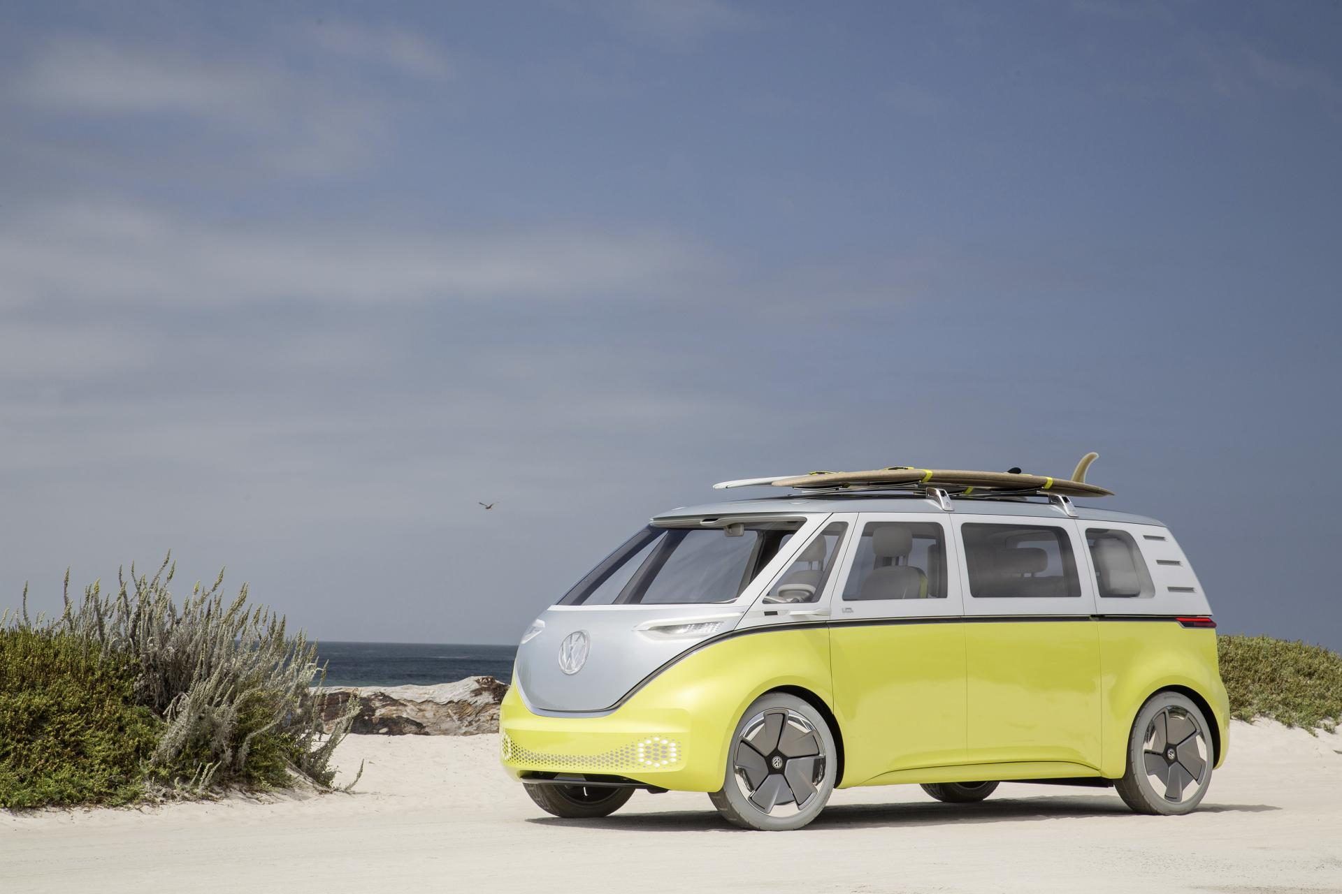 VW ID. BUZZ wird ab 2022 im Werk Hannover vom Band laufen