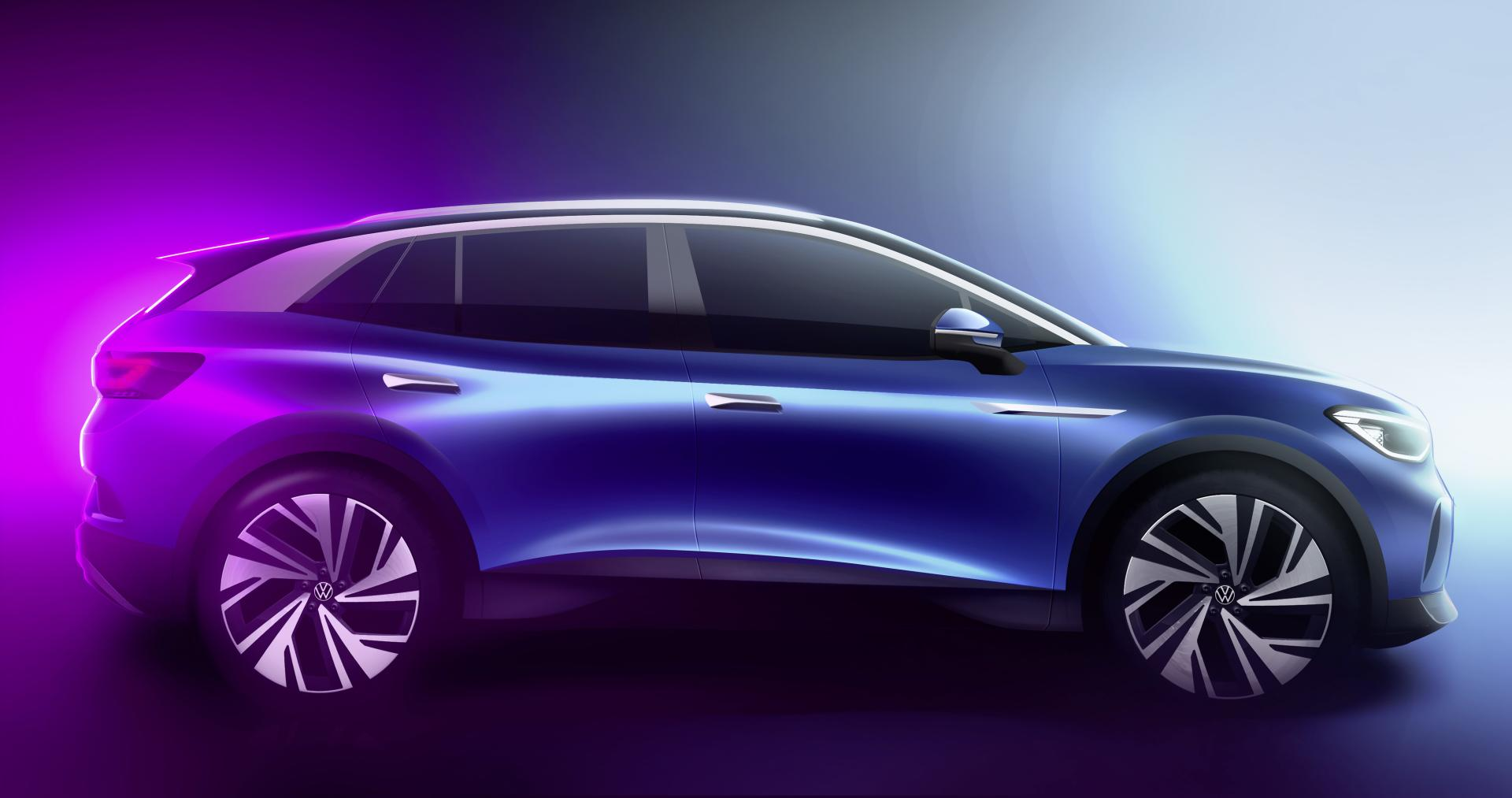 """VW ID.4 präsentiert sich """"Wie vom Wind geformt"""" - Exterieurdesign im Fokus"""
