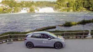VW ID.3: Reichweitenrekord mit nur einer Batterieladung von Zwickau in die Schweiz