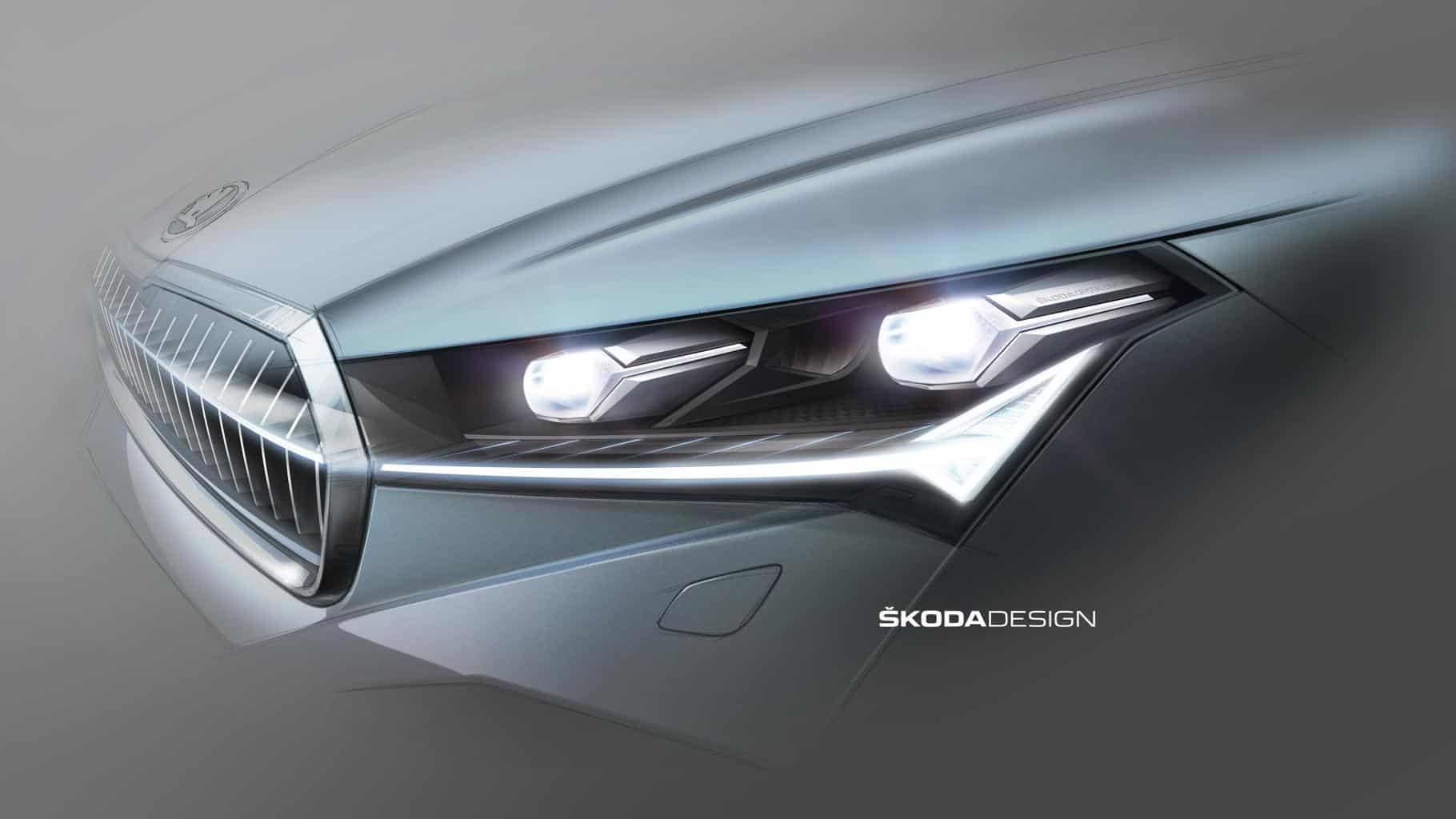 Mit dem ENYAQ iV ist ŠKODA ein Licht aufgegangen - Neues Lichtdesign des MEB-Stromer
