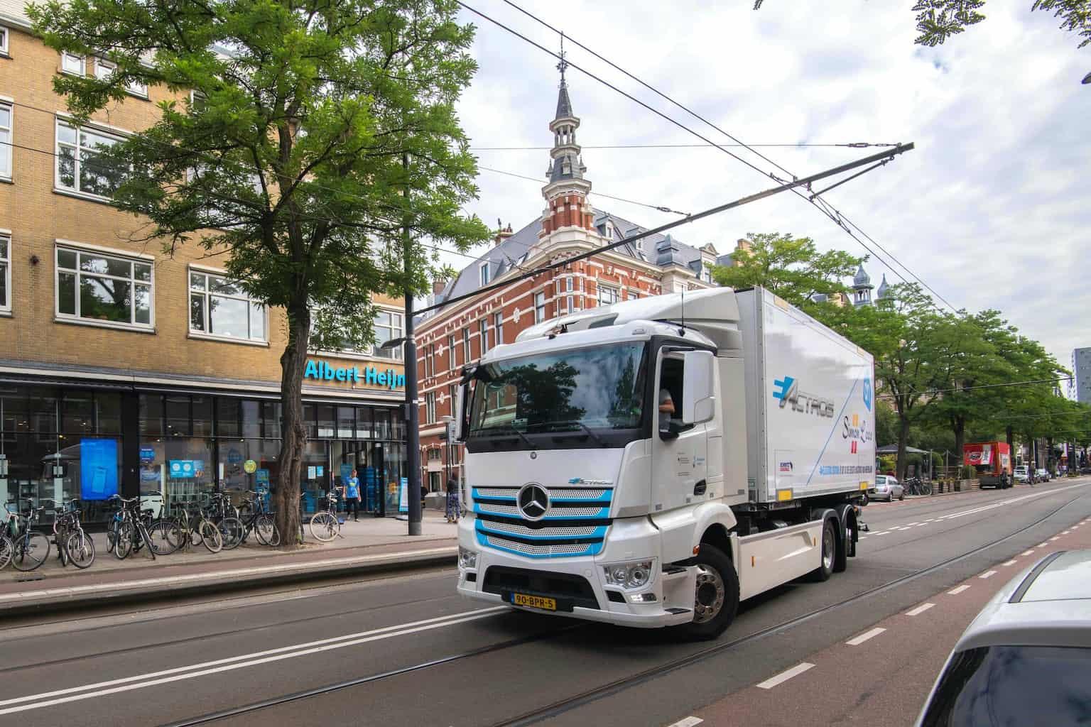 Mercedes-Benz Elektro-Lkw eActros