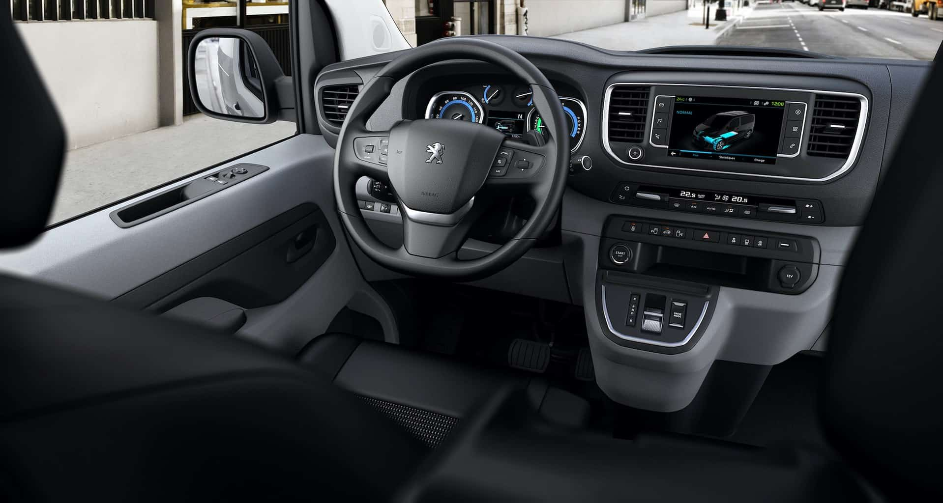 Peugeot Elektro Transporter e-Expert Cockpit