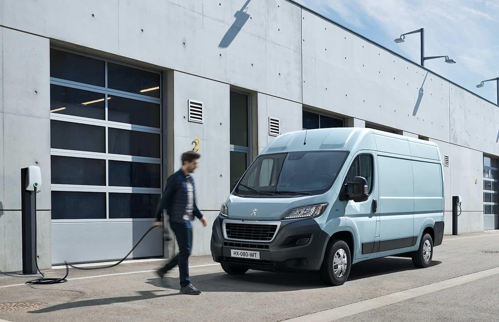 Peugeot e-Boxer Elektrotransporter