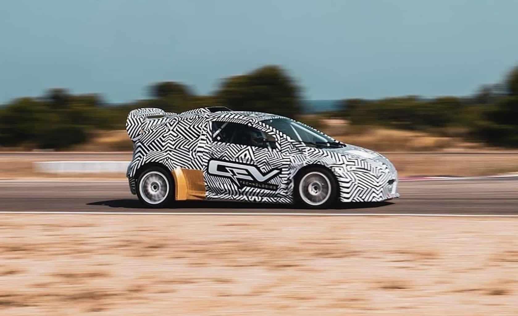 Elektroauto Rallyecross eRX2