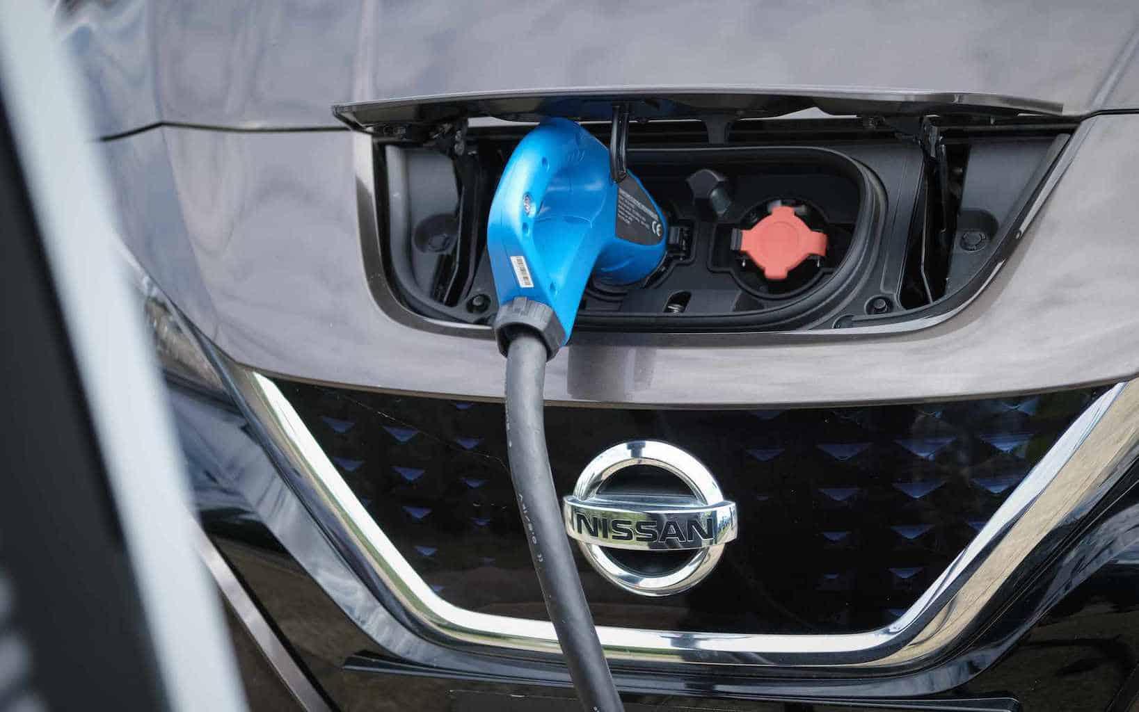 Eon Nissan V2G