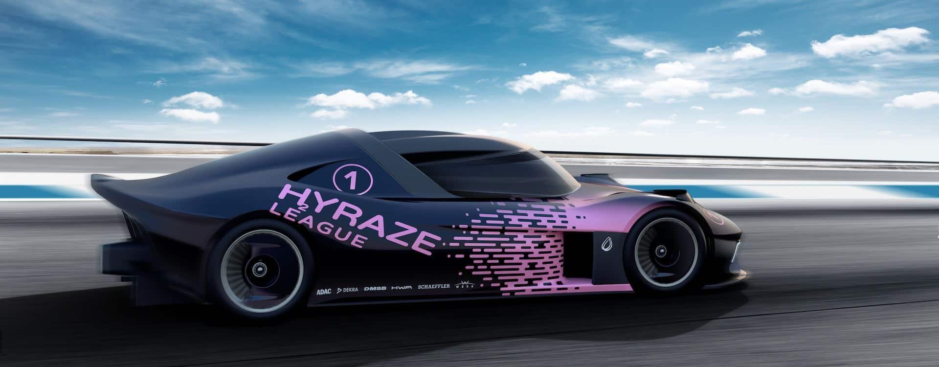 Rennwagen der HYRAZE League