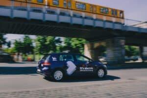WeShare Elektroauto Abo Berlin eGolf