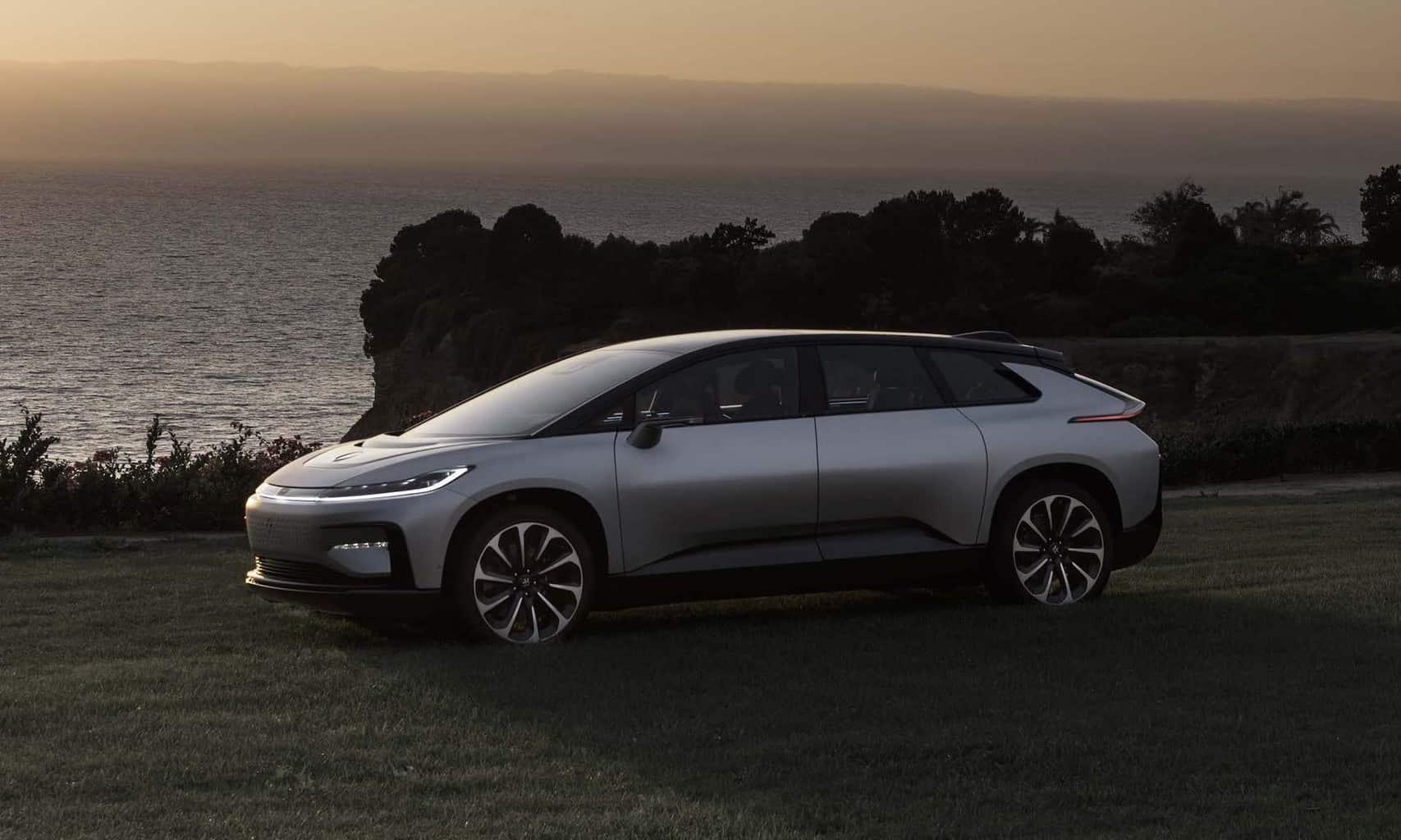 Faraday Future Elektroauto Türen