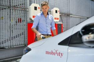 Mobility Elektroauto Carsharing