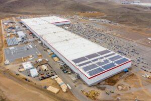 Panasonic und Tesla steigern Kapazität in Gigafactory 1 Nevada