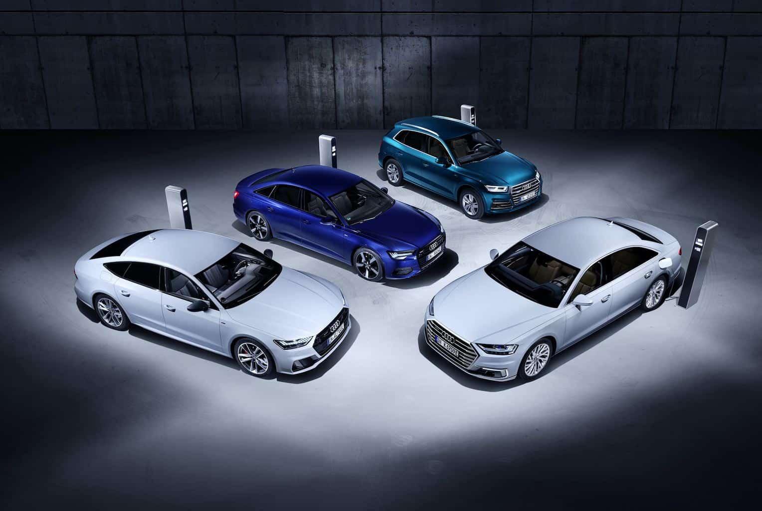 Audi Q5, A6, A7 und A8 Plug-in-Hybrid