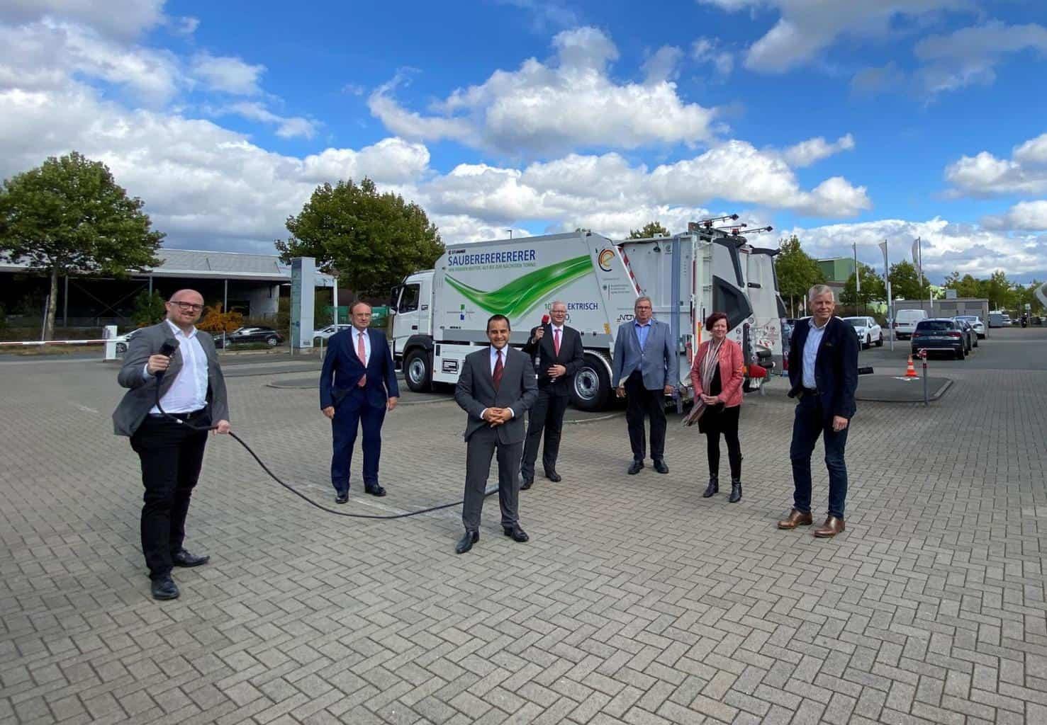 In Duisburg wird künftig Abfall mit 680 PS vollelektrisch gesammelt