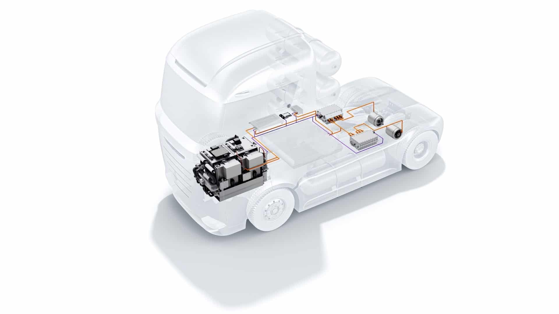 Brennstoffzelle Wasserstoff Lkw Nutzfahrzeuge