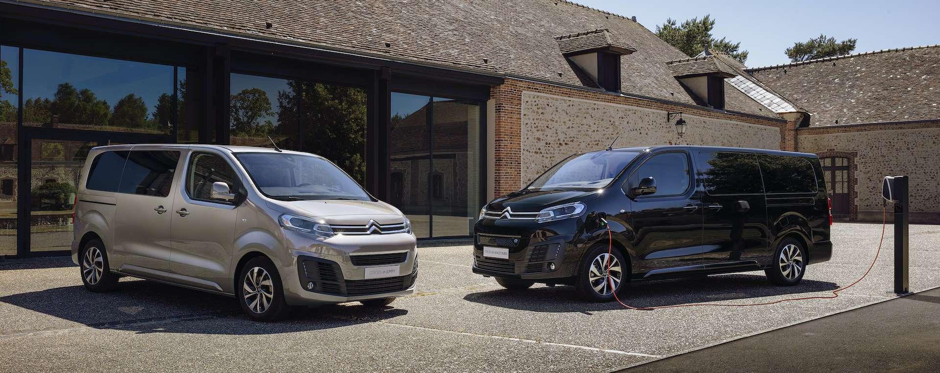 Elektro-Van Citroën ë-SpaceTourer