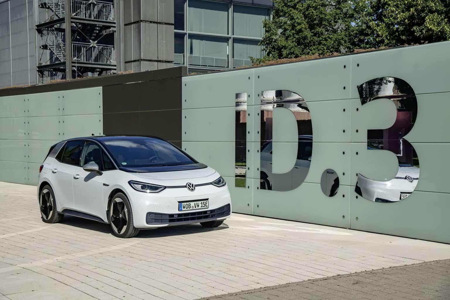 VW ID.3: Bisher sind 7.000 Bestellungen aus Deutschland eingegangen