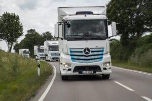 Daimler Elektro-Lkw eActros