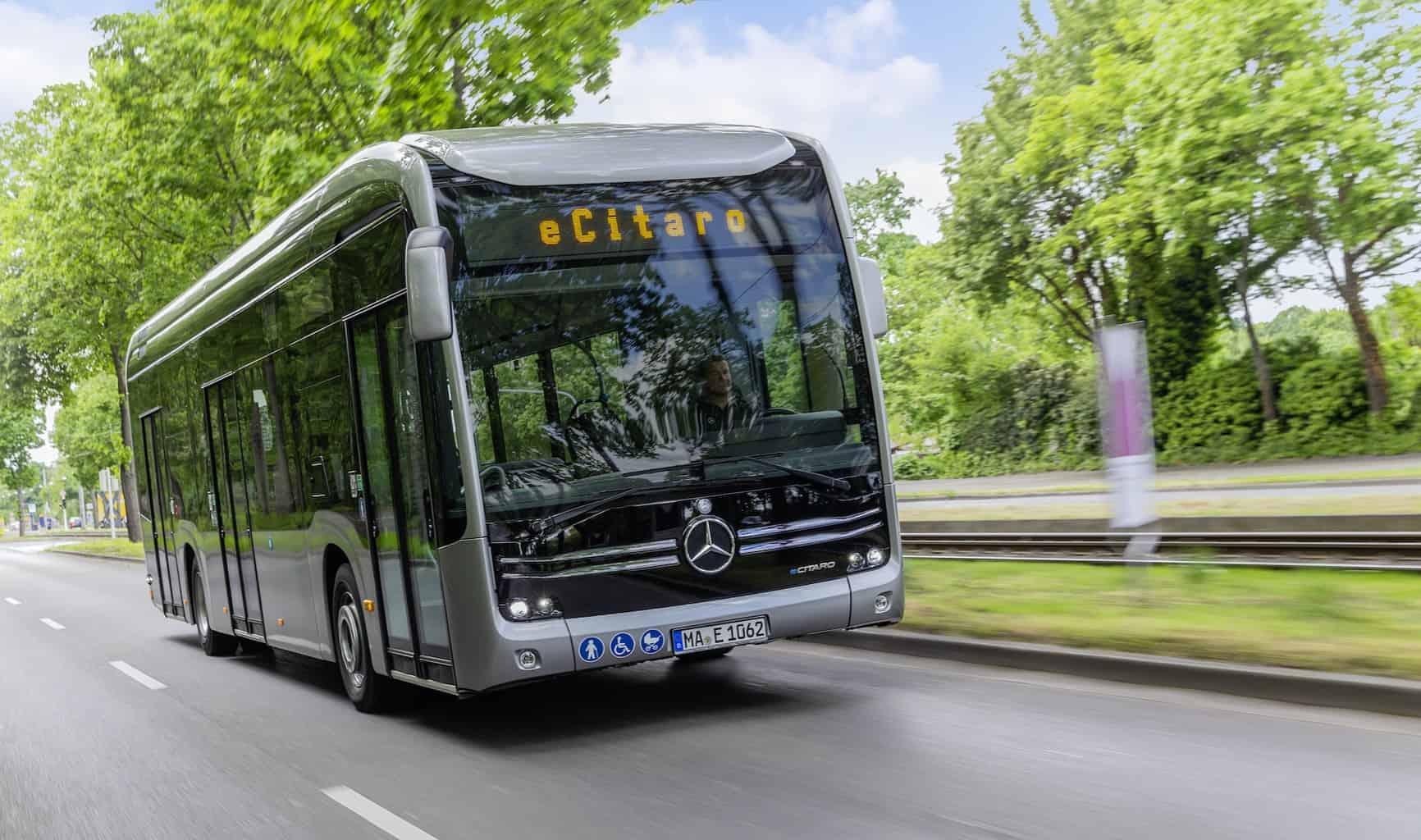Daimler eCitaro Elektrobus