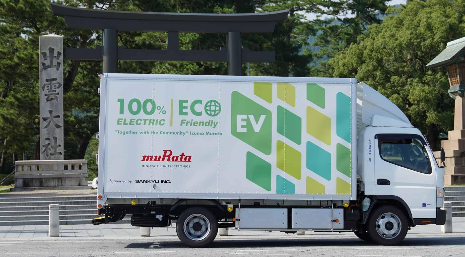 Daimler Elektro-Lkw Fuso eCanter