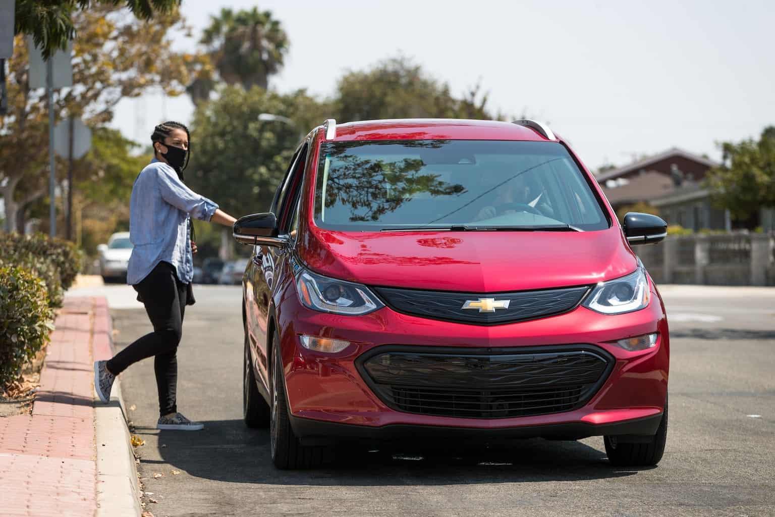 Uber GM Elektroauto Rabatt