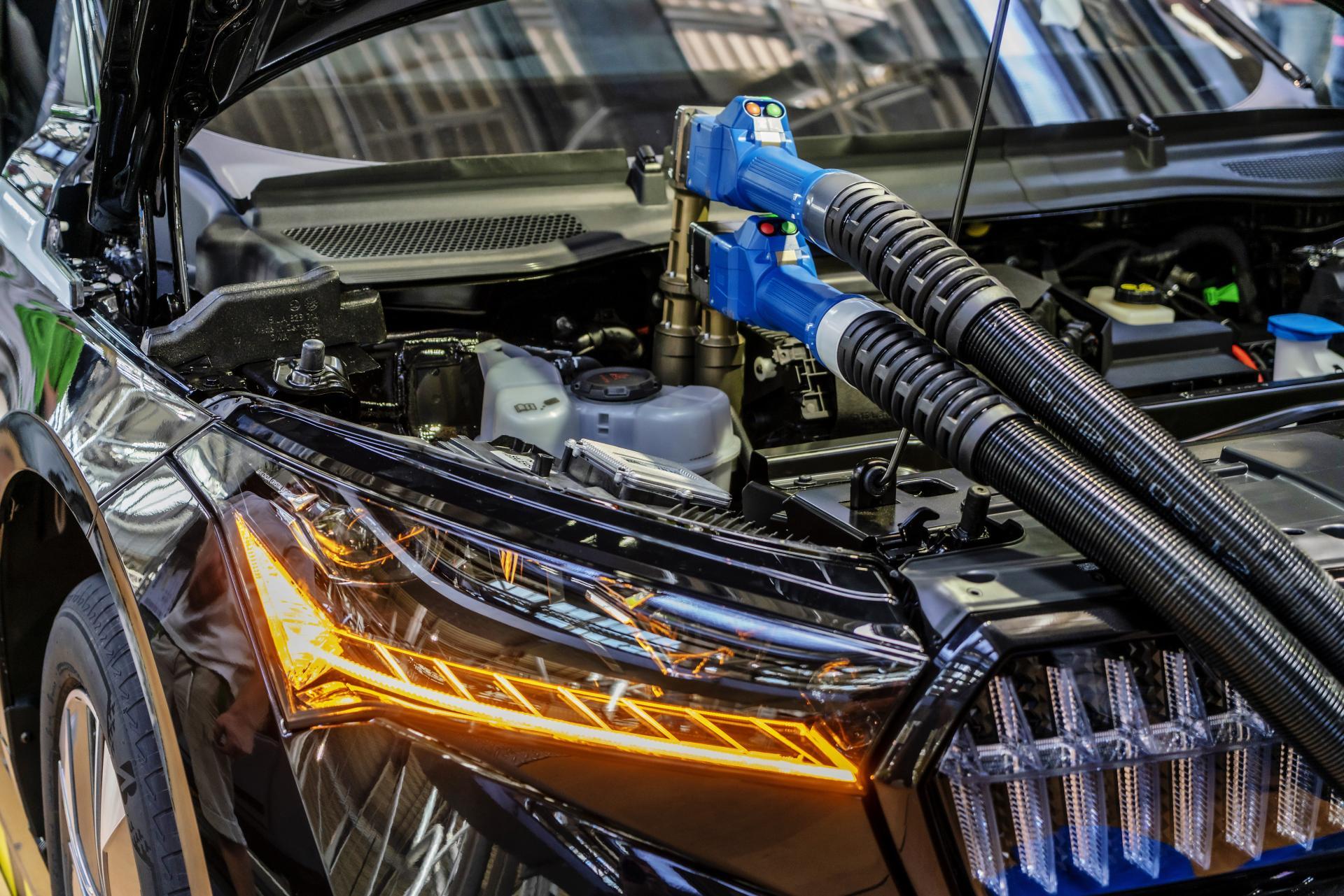Škoda investiert 32 Millionen Euro in die Fertigung des ENYAQ iV