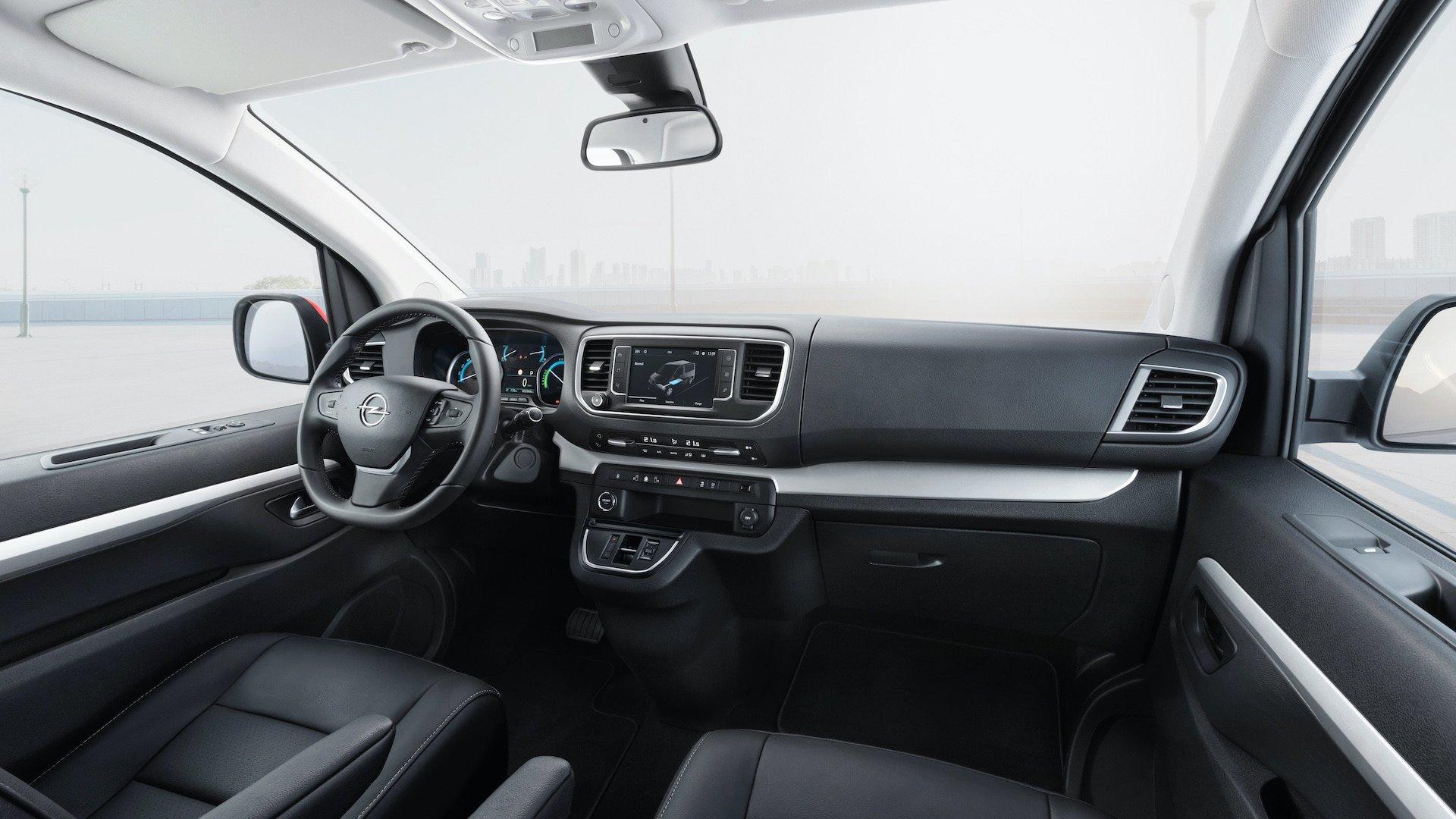 Opel Zafira-e Elektro-Van Cockpit