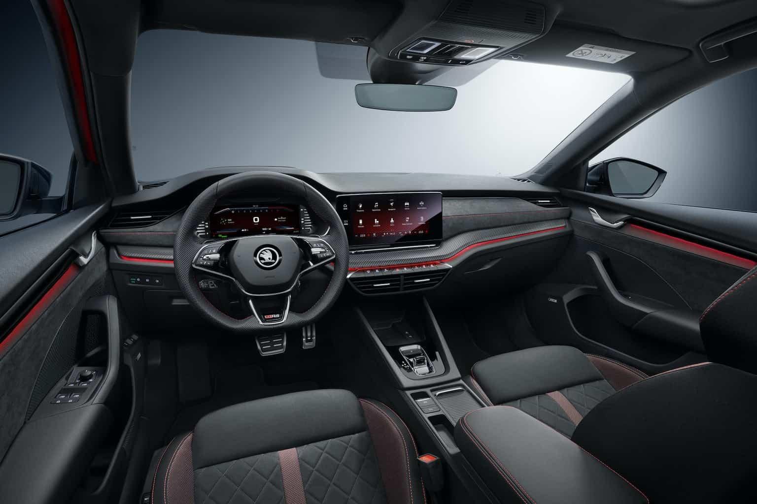 Skoda Octavia RS iV Plug-in-Hybrid Cockpit