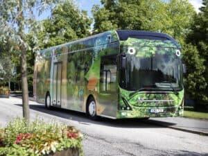 Volvo Buses wird sämtlichen E-Bus-Batterien ein zweites Leben spendieren