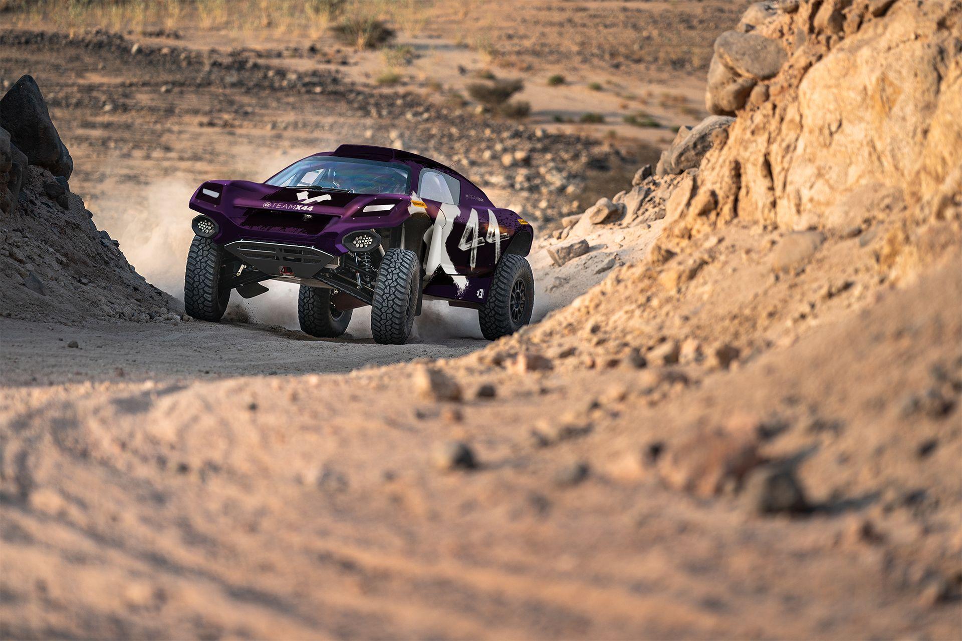 Lewis Hamilton zieht es zur E-Rallye-Serie Extreme E