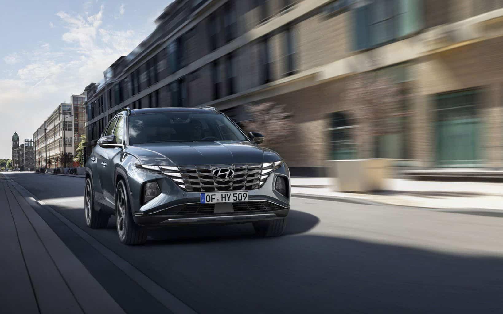Hyundai Tucson kommt in 4. Generation als Hybrid, PHEV und 48-Volt-Hybrid