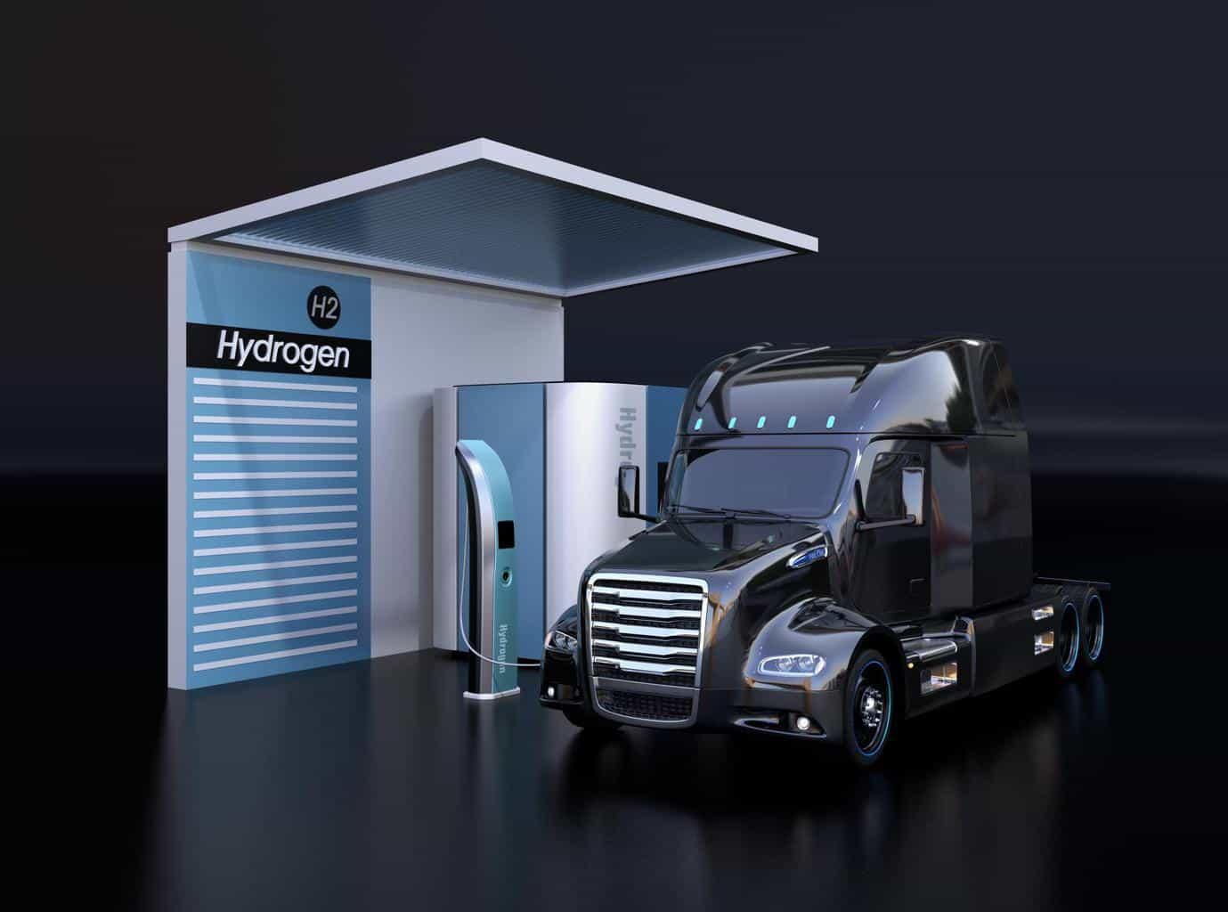Toyota stellt Wasserstoff-Lkw zur mobilen Stromversorgung vor