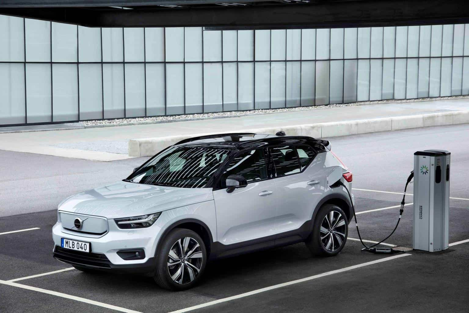 Marktstart des XC40 Recharge Pure Electric via Care by Volvo