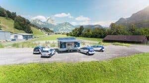 """AEW Energie verspricht """"Energy to go"""" mit mobiler Ladestation für E-Autos"""